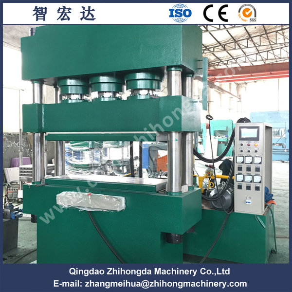 Rubber Compression Molding Press with Up Pressing Type (Downwards)