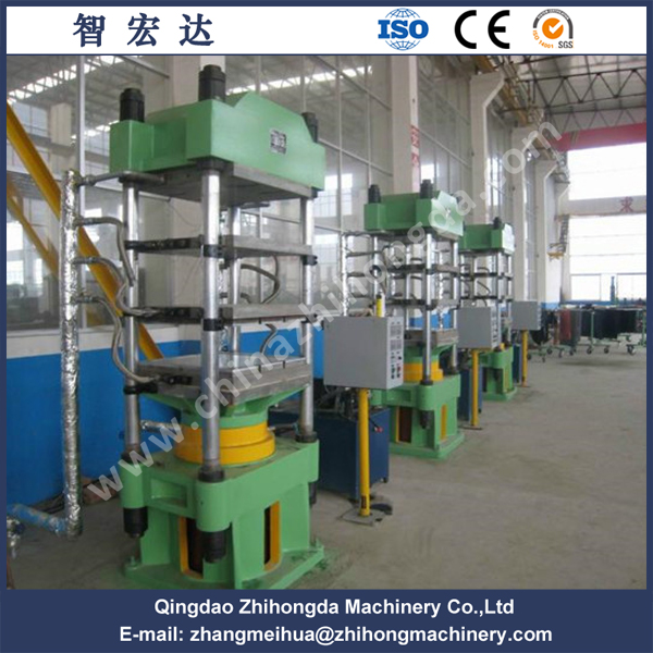 Four Poles Rubber Shoe Sole Hydraulic Press Machine