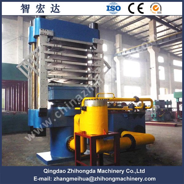 EVA Foaming Plate Vulcanizing Press Machine