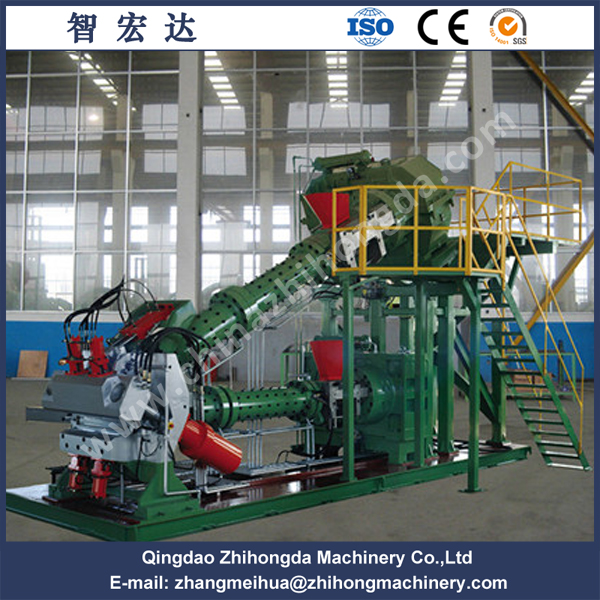 Double Composite Rubber Extruder