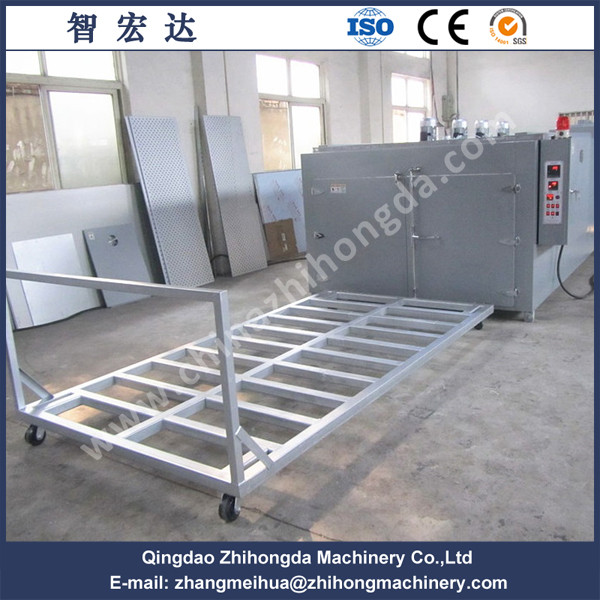 Large motor coil drying oven
