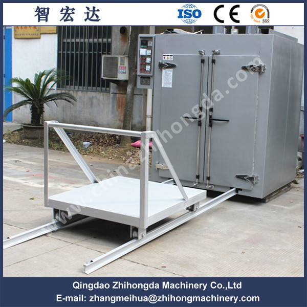 Ceramic tile hot air circulating oven